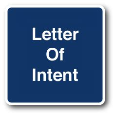 How to write letter of intent for job